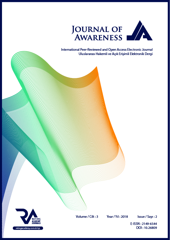 Journal of Awareness , Vol.3, Issue.2, 2018